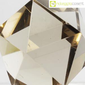 Icosaedro regolare in vetro fumè (7)