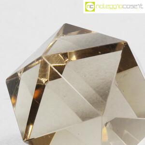 Icosaedro regolare in vetro fumè (8)