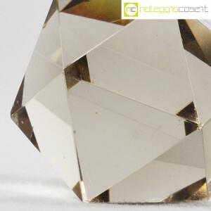 Icosaedro regolare in vetro fumè (9)