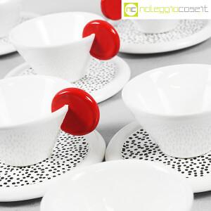 Mas Ceramiche, set tazzine bianche con manico rosso, Massimo Materassi (7)