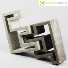 Scultura componibile in cemento