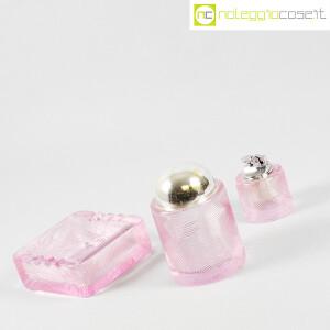 Arnolfo di Cambio, set da fumo in cristallo rosa, Sergio Asti (3)