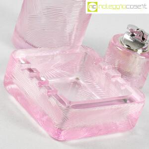 Arnolfo di Cambio, set da fumo in cristallo rosa, Sergio Asti (8)