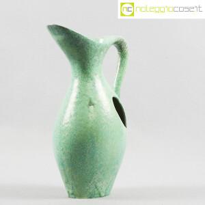 Ceramiche Franco Pozzi, vaso verde con foro, Ambrogio Pozzi (2)