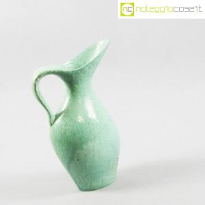 Ceramiche Franco Pozzi, vaso verde con foro, Ambrogio Pozzi (3)
