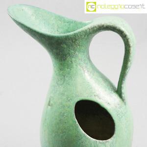Ceramiche Franco Pozzi, vaso verde con foro, Ambrogio Pozzi (5)