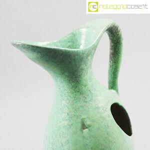 Ceramiche Franco Pozzi, vaso verde con foro, Ambrogio Pozzi (6)