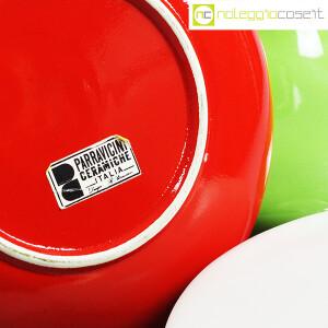 Parravicini Ceramiche, vasi con tappo verde, bianco e rosso (9)