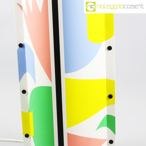 Slamp, lampada modello Fahne, Alessandro Mendini (5)