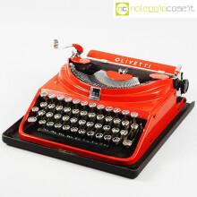 Olivetti macchina da scrivere ICO rossa