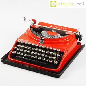 Olivetti, macchina da scrivere ICO MP1 rossa, Aldo e Adriano Magnelli (1)