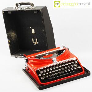 Olivetti, macchina da scrivere ICO MP1 rossa, Aldo e Adriano Magnelli (3)