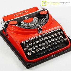 Olivetti, macchina da scrivere ICO MP1 rossa, Aldo e Adriano Magnelli (4)
