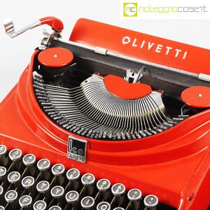 Olivetti, macchina da scrivere ICO MP1 rossa, Aldo e Adriano Magnelli (5)