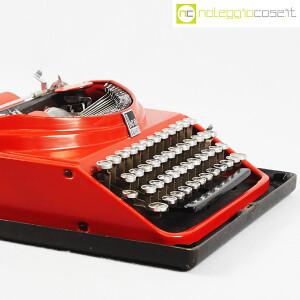 Olivetti, macchina da scrivere ICO MP1 rossa, Aldo e Adriano Magnelli (6)