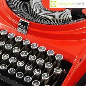 Olivetti, macchina da scrivere ICO MP1 rossa, Aldo e Adriano Magnelli (7)