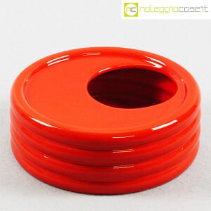 Parravicini Ceramiche, posacenere rosso (1)
