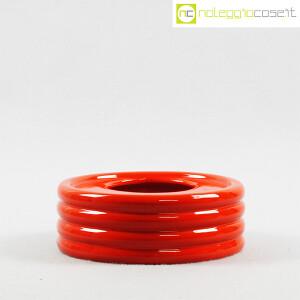 Parravicini Ceramiche, posacenere rosso (2)