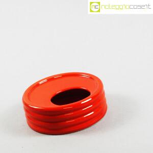 Parravicini Ceramiche, posacenere rosso (3)