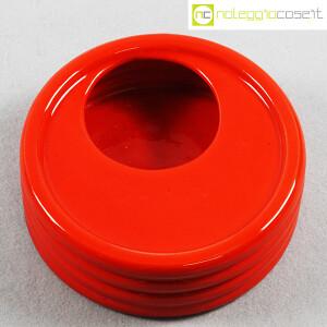 Parravicini Ceramiche, posacenere rosso (4)