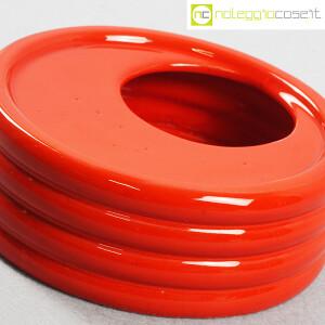 Parravicini Ceramiche, posacenere rosso (5)