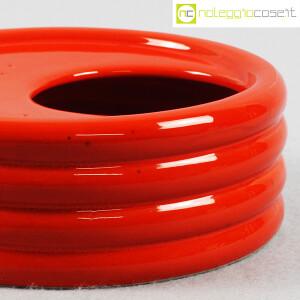 Parravicini Ceramiche, posacenere rosso (6)