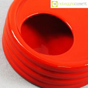 Parravicini Ceramiche, posacenere rosso (7)