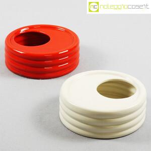 Parravicini Ceramiche, posacenere rosso (9)