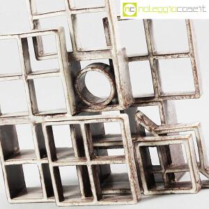 Amedeo Fiorese, scultura in ceramica Struttura Quadrati (5)