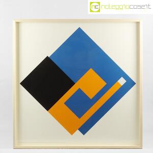Danese Milano, serigrafia Negativo-Positivo blu-giallo, Bruno Munari (1)