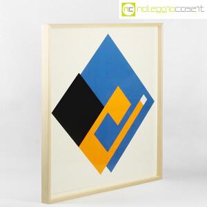 Danese Milano, serigrafia Negativo-Positivo blu-giallo, Bruno Munari (2)