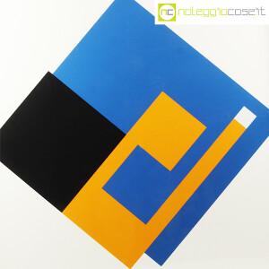 Danese Milano, serigrafia Negativo-Positivo blu-giallo, Bruno Munari (5)