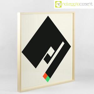 Danese Milano, serigrafia Negativo-Positivo nero, Bruno Munari (2)
