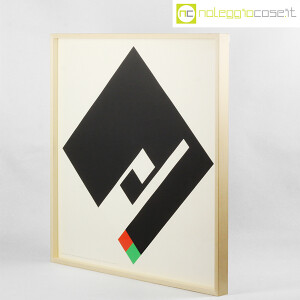 Danese Milano, serigrafia Negativo-Positivo nero, Bruno Munari (3)