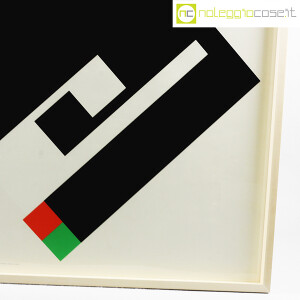 Danese Milano, serigrafia Negativo-Positivo nero, Bruno Munari (7)