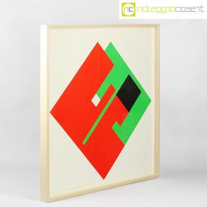 Danese Milano, serigrafia Negativo-Positivo rosso-verde, Bruno Munari (2)