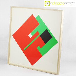 Danese Milano, serigrafia Negativo-Positivo rosso-verde, Bruno Munari (3)