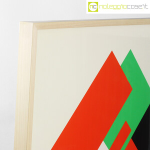 Danese Milano, serigrafia Negativo-Positivo rosso-verde, Bruno Munari (4)