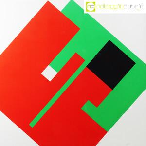Danese Milano, serigrafia Negativo-Positivo rosso-verde, Bruno Munari (5)