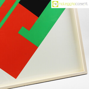 Danese Milano, serigrafia Negativo-Positivo rosso-verde, Bruno Munari (7)
