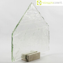 Pompeo Pianezzola Piramide lastra vetro