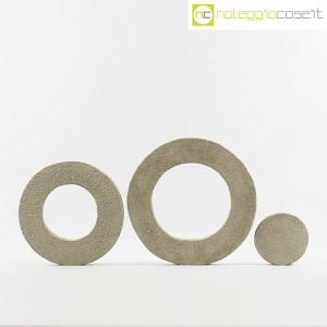 Anelli in cemento grezzo grigio (2)