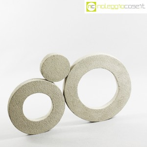 Anelli in cemento grezzo grigio (3)