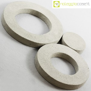 Anelli in cemento grezzo grigio (4)