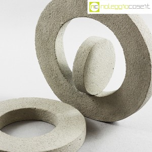 Anelli in cemento grezzo grigio (6)