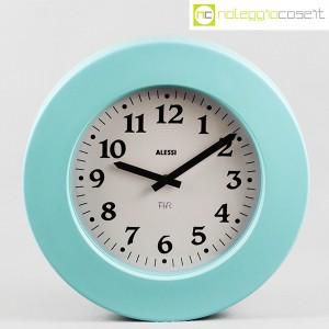 Alessi, orologio da muro Momento azzurro, Aldo Rossi (1)