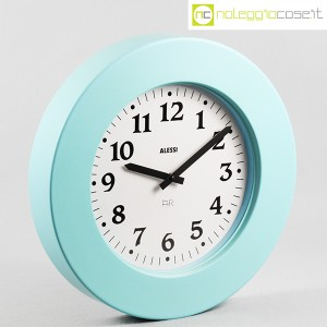 Alessi, orologio da muro Momento azzurro, Aldo Rossi (2)