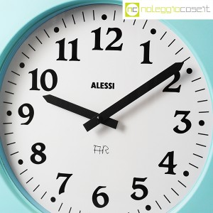 Alessi, orologio da muro Momento azzurro, Aldo Rossi (5)