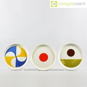 Ceramiche Franco Pozzi, set piatti serie Fantasia, Gio Ponti (2)