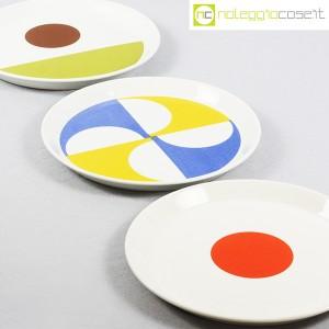 Ceramiche Franco Pozzi, set piatti serie Fantasia, Gio Ponti (5)